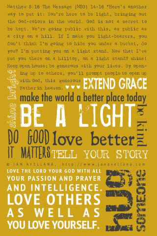 Be-a-light-iphone